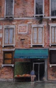 Venise - Le marchand de fruits